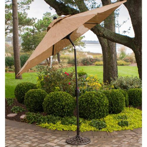 Monaco Iron Umbrella Base - UMBRELLABASE