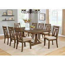 8826 9PC Distressed Dining Room SET