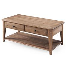 Rectangular Condo Cocktail Table w/Casters