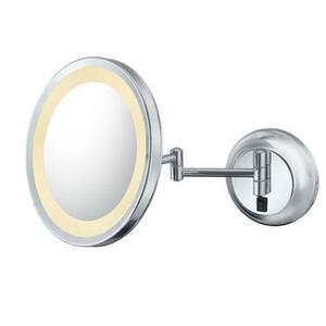 Kimball & Young - Italian Bronze Single-Sided LED Round Wall Mirror