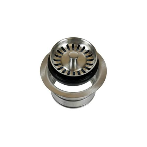 Mountain Plumbing - Classic - Complete Stopper & Strainer Unit Waste Disposer Trim - Extended Flange - Polished Chrome