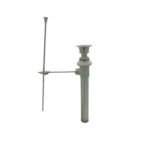 Lavatory Pop-Up Drain Assembly w/ Pop-Up Rod - Brushed Rose Bronze