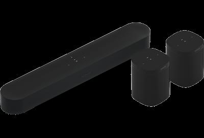 Black- 5.0 Surround Set