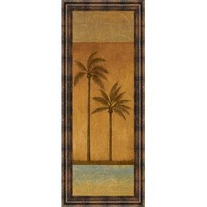 """Golden Palm Il"" By Jordan Grey Framed Print Wall Art"