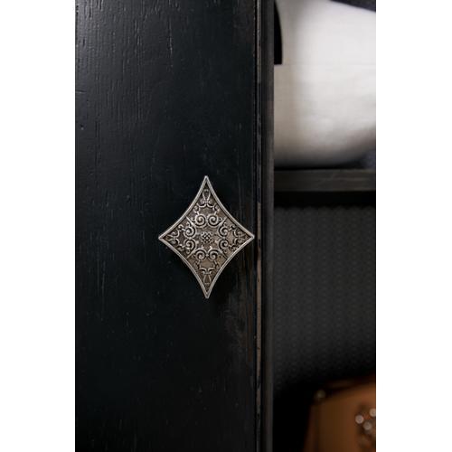 Product Image - Sanctuary Armoire En Noir