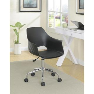 Bucket Office Chair Black