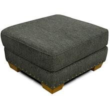 6637N Walters Ottoman with Nails