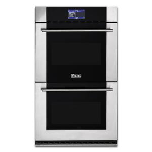 "Viking30"" Double Thermal-Convection Oven - MVDOE630SS"