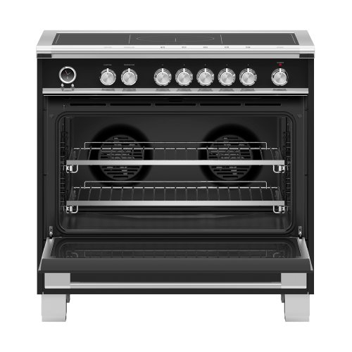 "Induction Range, 36"", 5 Zones with SmartZone, Self-cleaning"