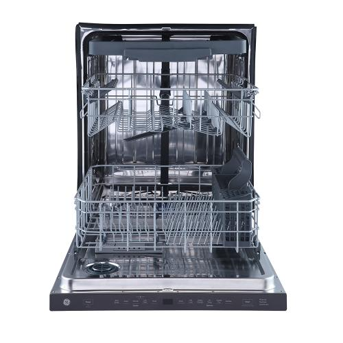 "GE 24"" Built-In Top Control Dishwasher with Stainless Steel Tall Tub Slate - GBP655SMPES"