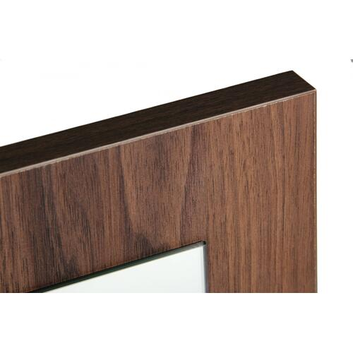 Nova Domus Asus - Italian Modern Walnut Mirror