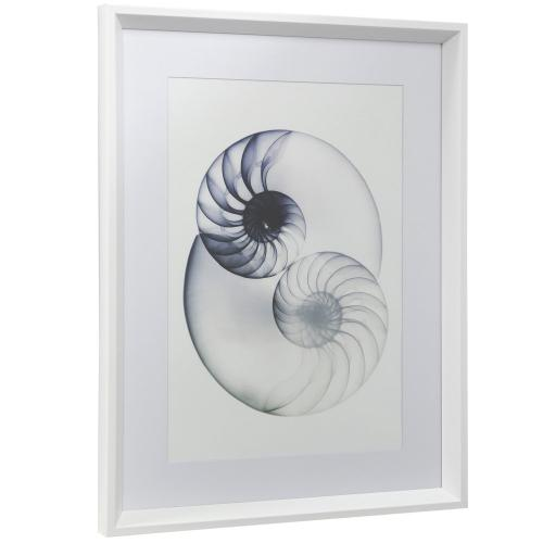 Style Craft - TRANSLUCENCE II  18in w X 24in ht  Framed Print Under Glass with Matte