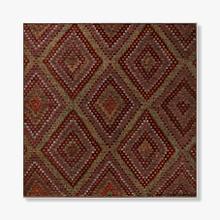 0325430004 Vintage Textile Wall Art