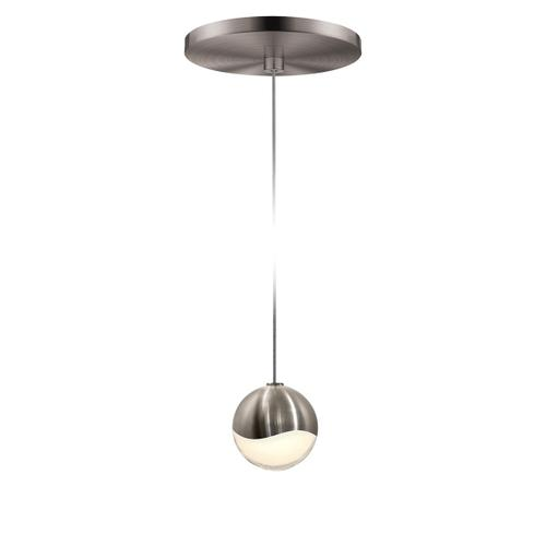 Sonneman - A Way of Light - Grapes® LED Pendant [Size=Single Small, Color/Finish=Satin Nickel, Shape=Round Canopy]