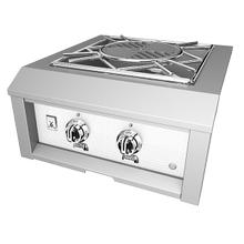 "See Details - 24"" Hestan Outdoor Power Burner - AGPB Series - Froth"