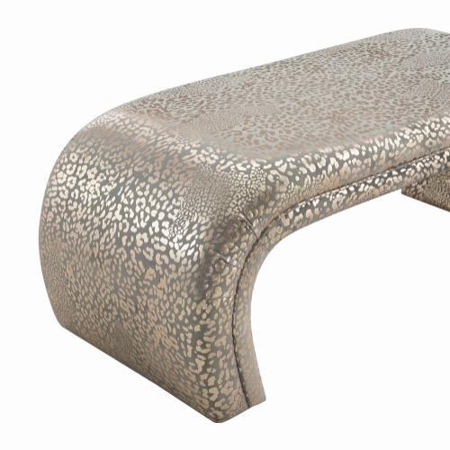 Kenya Gilded Lepord Bench