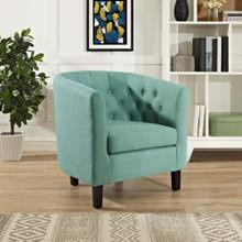 Prospect Upholstered Fabric Armchair in Laguna