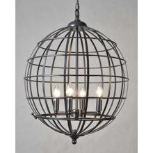 See Details - Cage 4-Light Chandelier