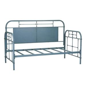 Liberty Furniture Industries - Twin Metal Day Bed - Blue