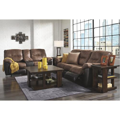 Follett Reclining Loveseat With Console