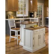 Woodbridge 3 Piece Kitchen Island Set