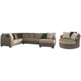 3-piece Sectional With Chair