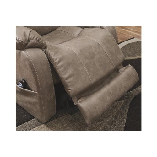 Barling Power Recliner/ADJ Headrest Mushroom