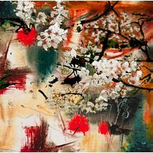 """View Product - Cherry Blossom - Taz 40"""" x 40"""""""