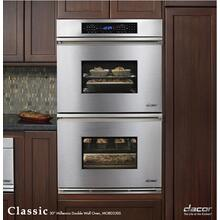 "Classic 30"" Millennia Double Wall Oven with Single Convection (top oven only) in Stainless Steel"