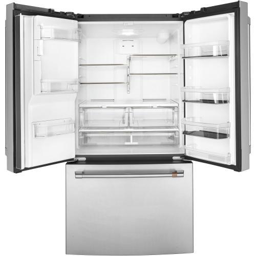 GE Appliances - Café ENERGY STAR® 25.6 Cu. Ft. French-Door Refrigerator