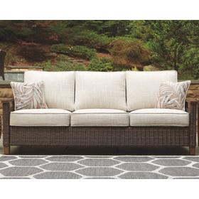 Paradise Trail Sofa with Cushion Medium Brown