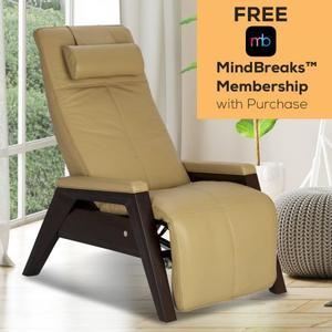 Human Touch - Gravis ZG Chair - Bone - Mahogany