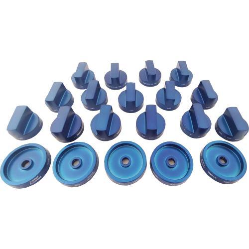 Blue Knob Set PAKNOBLUWG