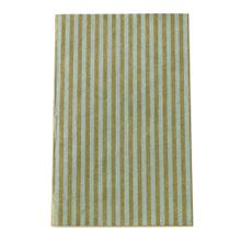 5'' x 8'' Mint Notebooks (Stripes Option)