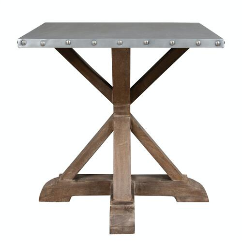 Capris Furniture - Lamp Table, Available in Natural Only