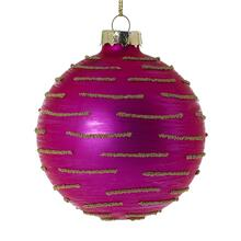 "3"" Hot-Pink Whimzy Ornament"