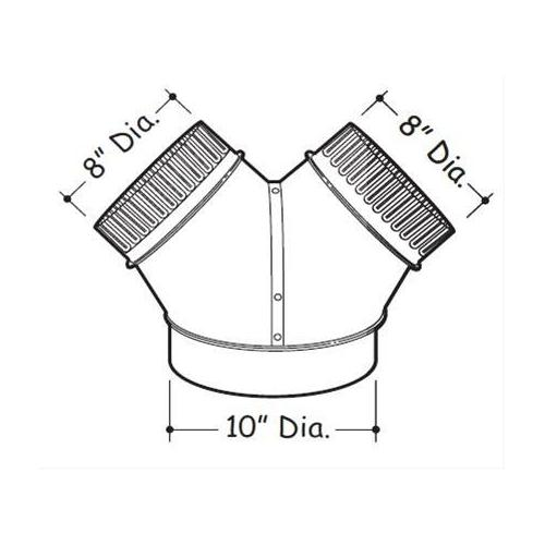 Product Image - Y-Duct Connector