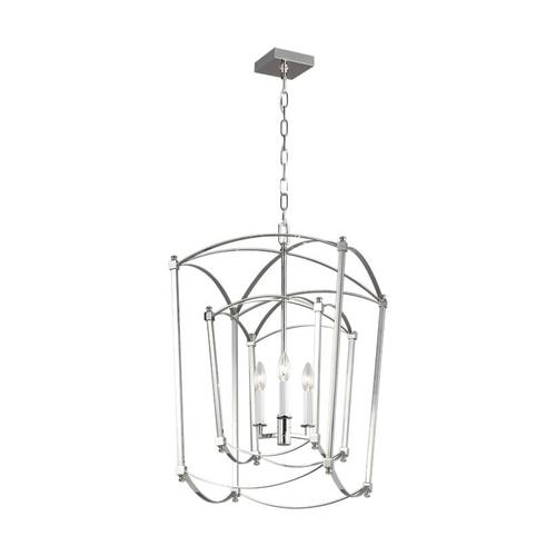Thayer Double Lantern Polished Nickel
