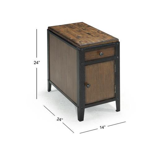 Chairside Door End Table