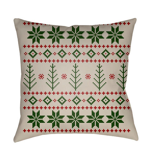 "FAIR ISLE III PLAID-015 18"" x 18"""