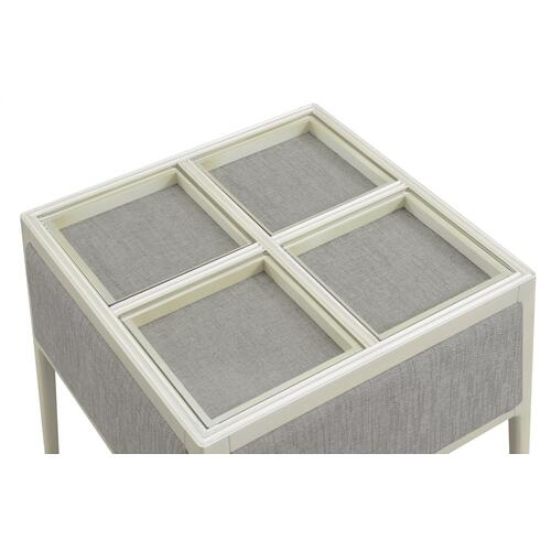 Emerald Home Marcella End Table Dove Gray T3325-01