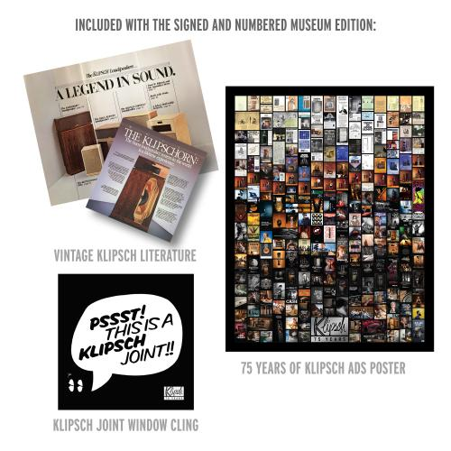 """Klipsch - Klipsch """"75 Years  A Pictorial History"""" - Museum Edition Package"""