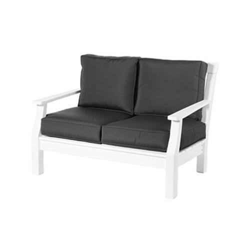 Seaside Casual - Nantucket Love Seat (4 pc Set) Cushion (827)