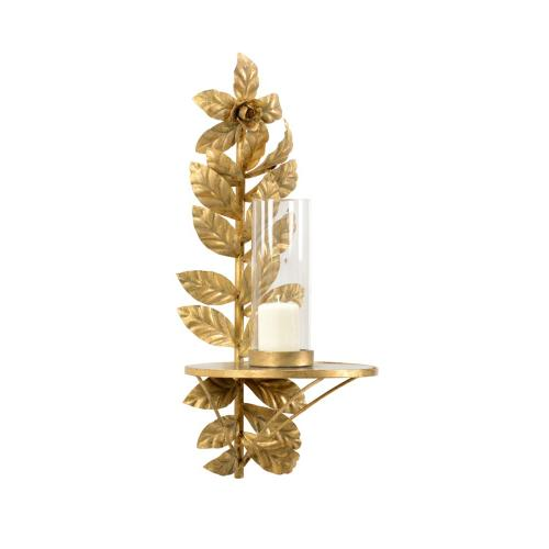 Leaves Candle Sconce