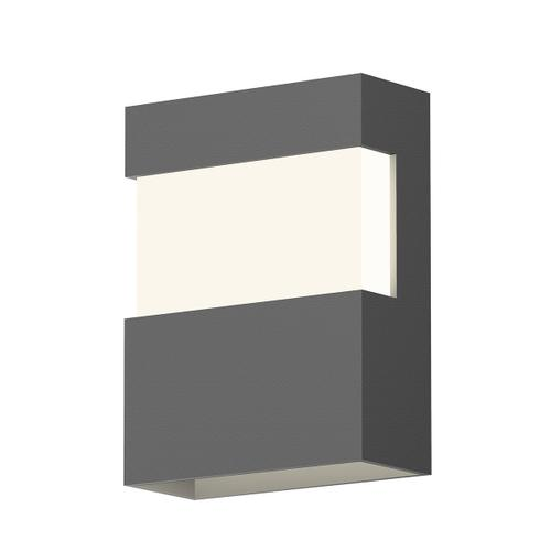 """Sonneman - A Way of Light - Band LED Sconce [Size=8"""", Color/Finish=Textured Gray]"""