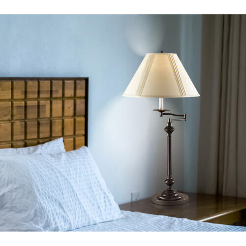 150W 3 Way Swing Arm Table Lamp