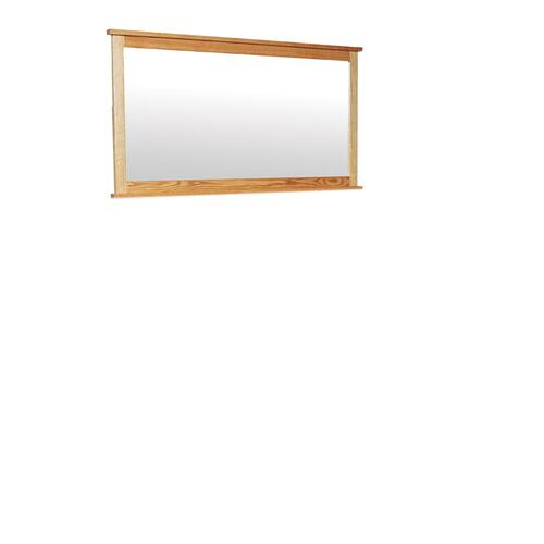 Shaker 12-Drawer Bureau Mirror, Medium