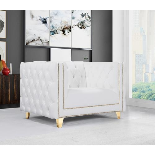 """Michelle Faux Leather Chair - 44"""" W x 34"""" D x 30"""" H"""
