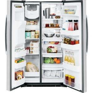 GE® ENERGY STAR® 25.9 Cu. Ft. Side-By-Side Refrigerator
