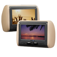 See Details - 9 inch Headrest DVD Monitor System with HDMI/MHL Input